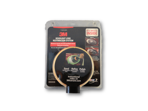 3M Headlight Lens Restoration System Set