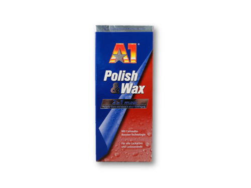 Dr. Wack A1 Polish & Wax 500 ml Set