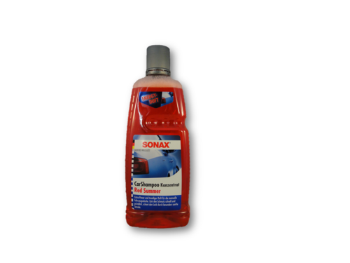 SONAX CarShampoo Konzentrat Red Summer 1000 ml