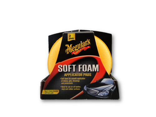 Meguiar's Soft Foam Applicator Pads 2 Stück