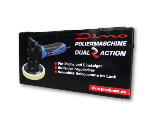 DINO Products Exzenter-Poliermaschine 180 mm Set