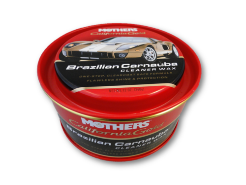 Mothers California Gold Brazilian Carnauba Cleaner Wax Paste 340 g